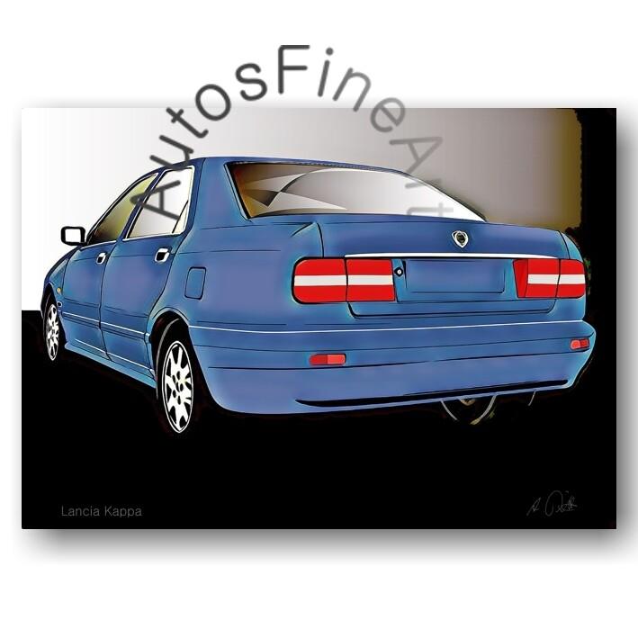 Lancia Kappa - HD Aluminiumbild No. 96glow