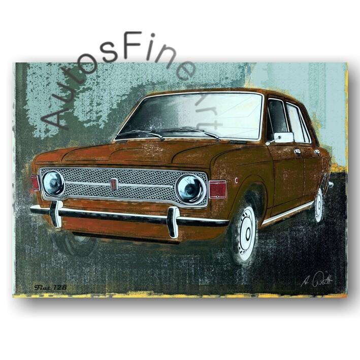 Fiat 128 - Poster No. 100spark