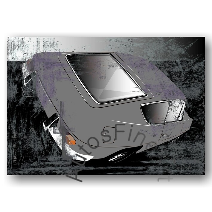 Lancia Fulvia Sport - Poster No. 108sketch