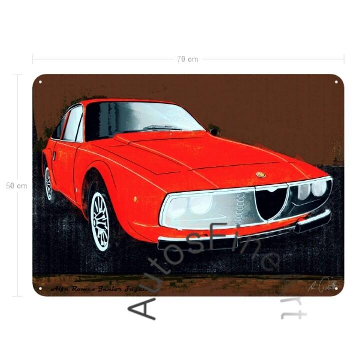 Alfa Romeo Junior Zagato - Blechbild No. 103spark