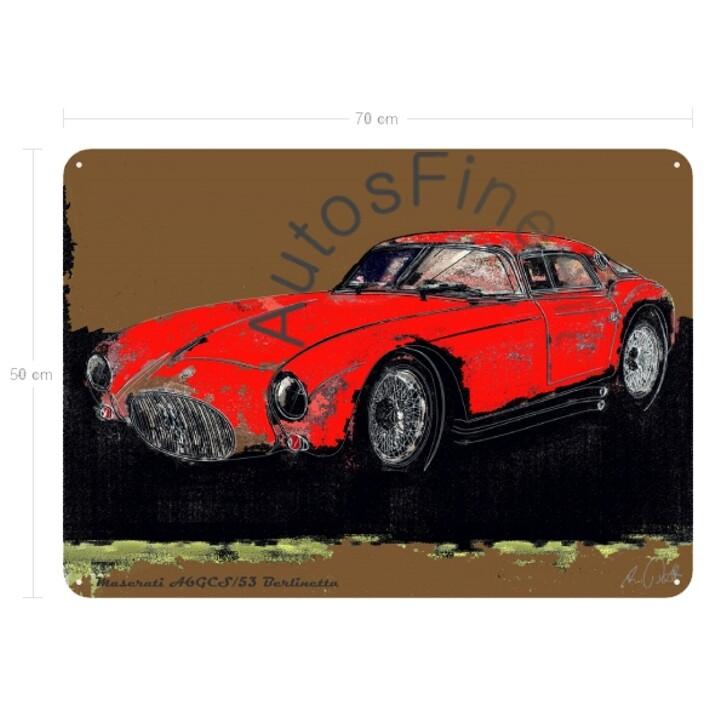 Maserati A6GCS/53 Berlinetta - Blechbild No. 105spark