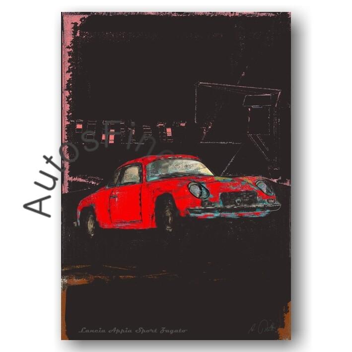 Lancia Appia Sport Zagato - Poster No. 110special