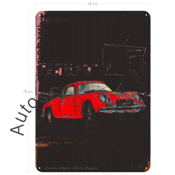 Lancia Appia Sport Zagato - Blechbild No. 110special