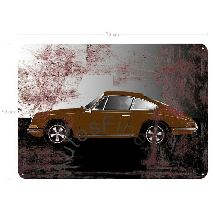 Porsche 911 T - Blechbild No. 111sketch