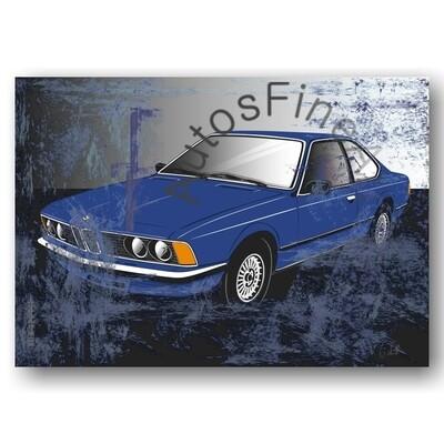 BMW 628 CSI - Poster No. 112