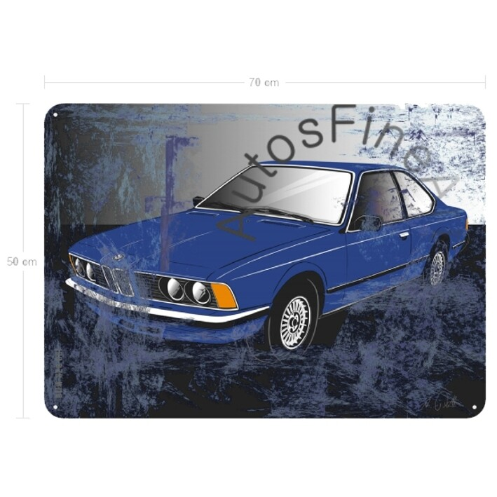 BMW 628 CSI - Blechbild No. 112sketch