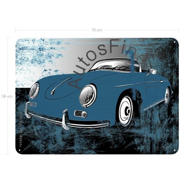 Porsche 356 Speedster - Blechbild No. 115sketch