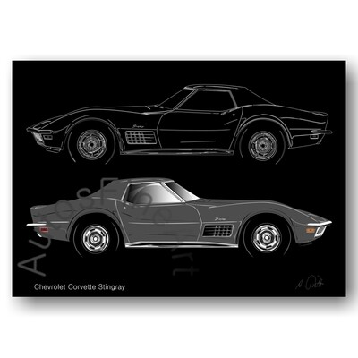 Chevrolet Corvette Stingray - Poster No. 120