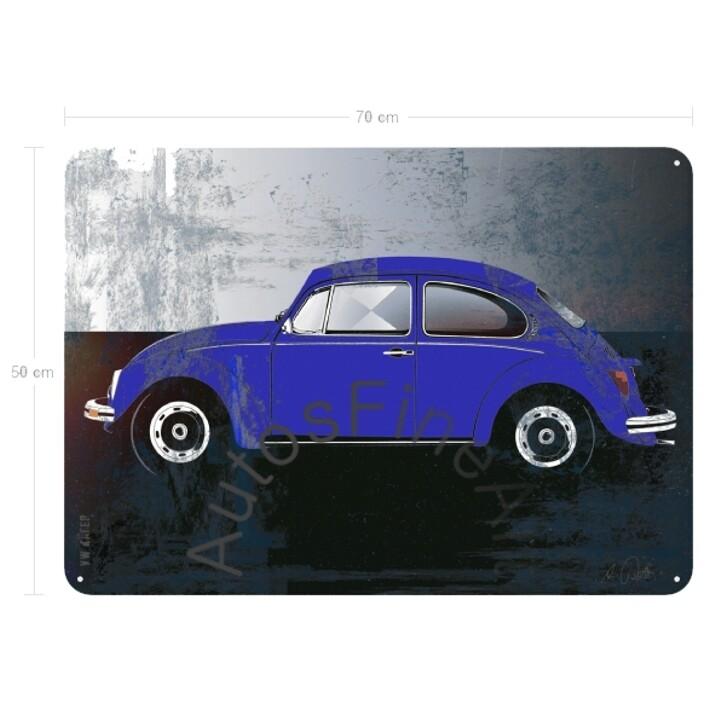 VW Käfer - Blechbild No. 123spark