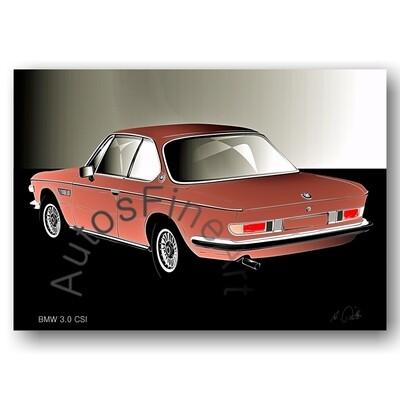BMW 3.0 CSI - Poster No. 125