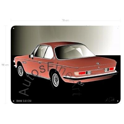 BMW 3.0 CSI - Blechbild No. 125