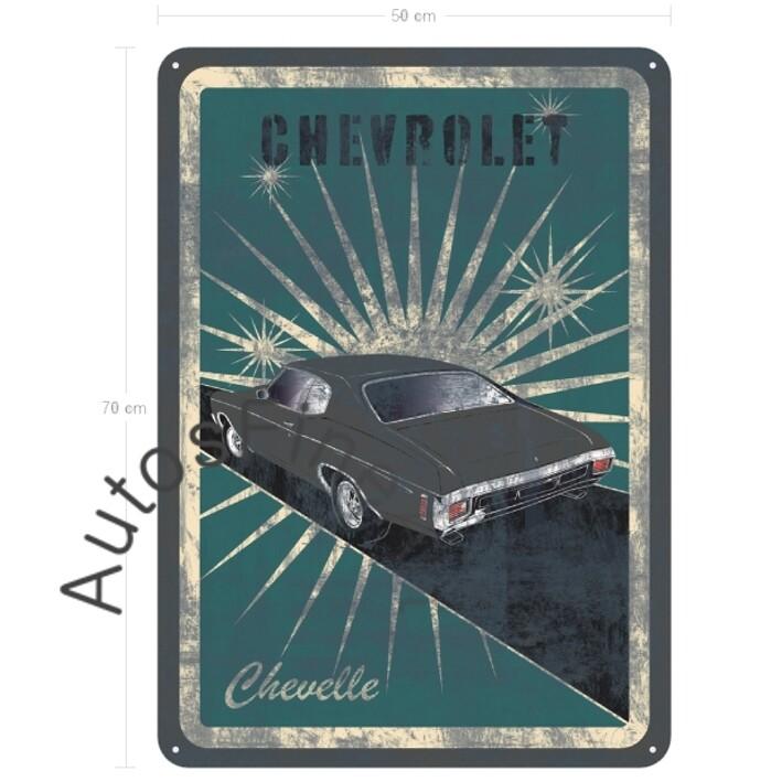 Chevrolet Chevelle - Blechbild No. 161street