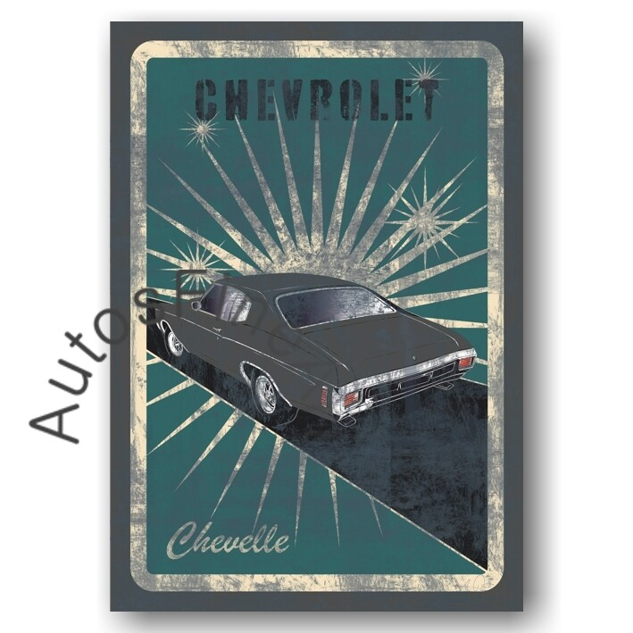 Chevrolet Chevelle - Poster No. 161street