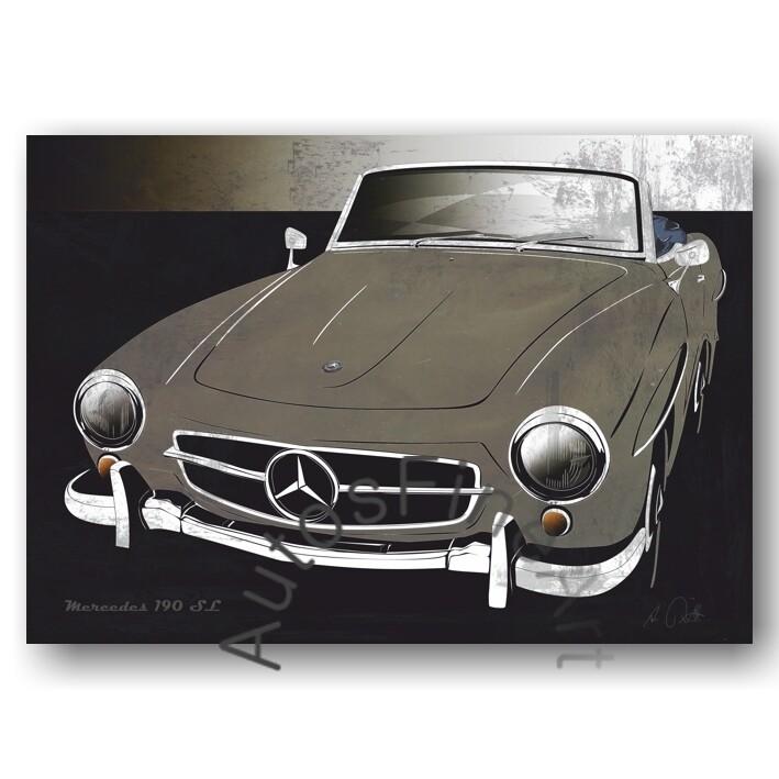 Mercedes 190 SL - Poster No. 134spark