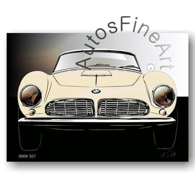 BMW 507 - Poster No. 138