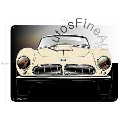 BMW 507 - Blechbild No. 138