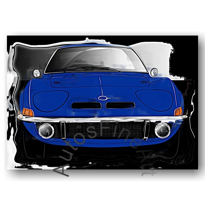 Opel GT - Poster No. 144vintage