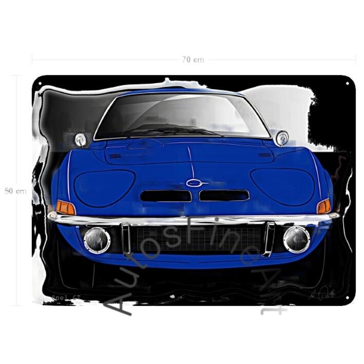 Opel GT - Blechbild No. 144vintage