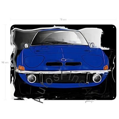 Opel GT - Blechbild No. 144