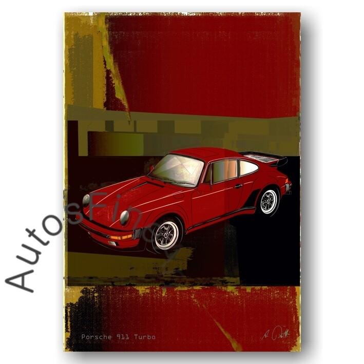 Porsche 911 Turbo - Poster No. 145special