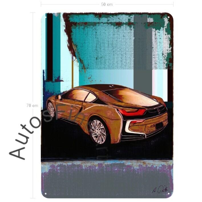BMW i8 - Blechbild No. 146special