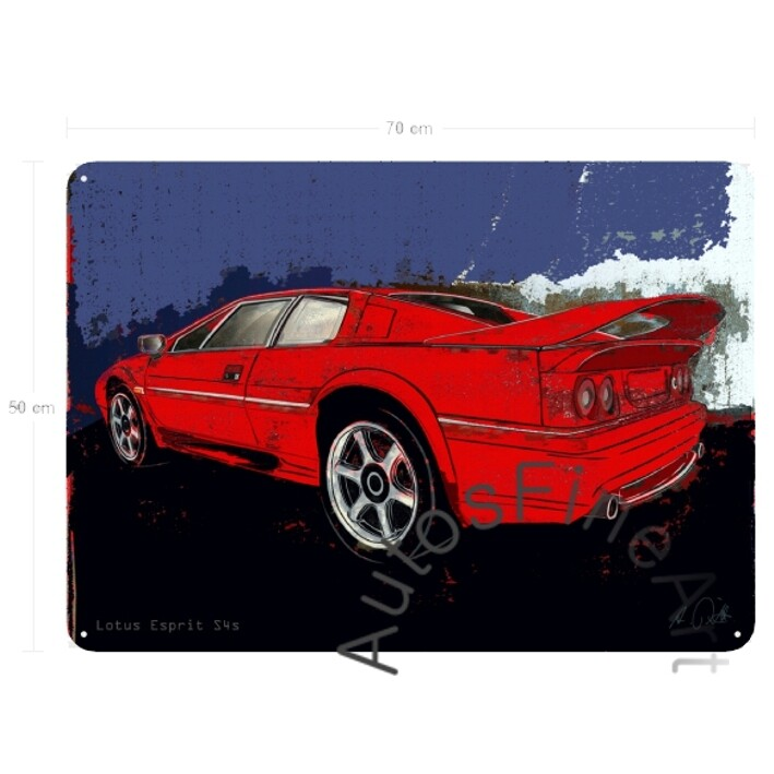 Lotus Esprit S4s - Blechbild No. 149spark