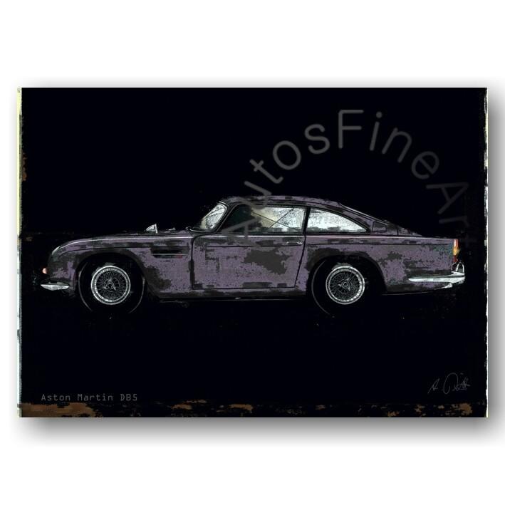 Aston Martin DB 5 - HD Aluminiumbild No. 150spark
