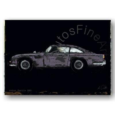 Aston Martin DB 5 - HD Aluminiumbild No. 150