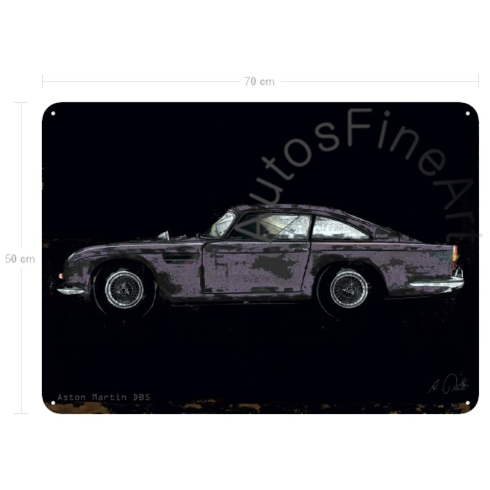 Aston Martin DB 5 - Blechbild No. 150spark