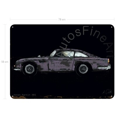 Aston Martin DB 5 - Blechbild No. 150