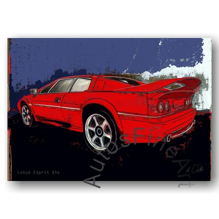 Lotus Esprit S4s - Poster No. 149spark