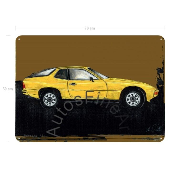 Porsche 924 - Blechbild No. 152spark