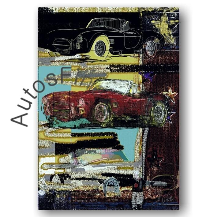 AC Shelby Cobra 427 - Poster No. 155special