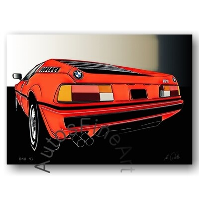 BMW M1 - Poster No. 127