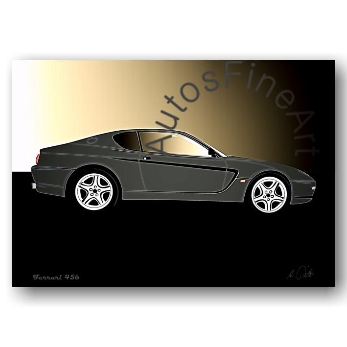 Ferrari 456 - Poster No. 101glow