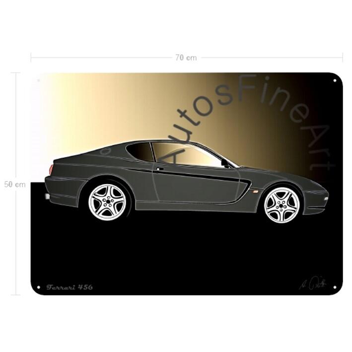 Ferrari 456 - Blechbild No. 101glow