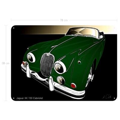 Jaguar XK 150 Cabriolet - Blechbild No. 148
