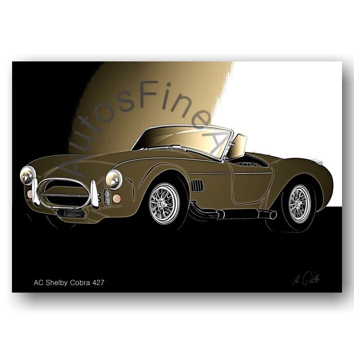 AC Shelby Cobra 427 - Poster No. 155glow
