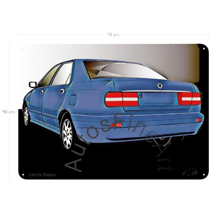 Lancia Kappa - Blechbild No. 96glow