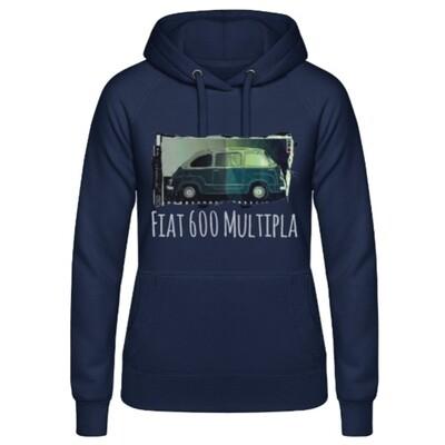 Fiat 600 Multipla Frauen Hoodie - No. 102urban