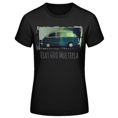 Fiat 600 Multipla Frauen T-Shirt - No. 102urban