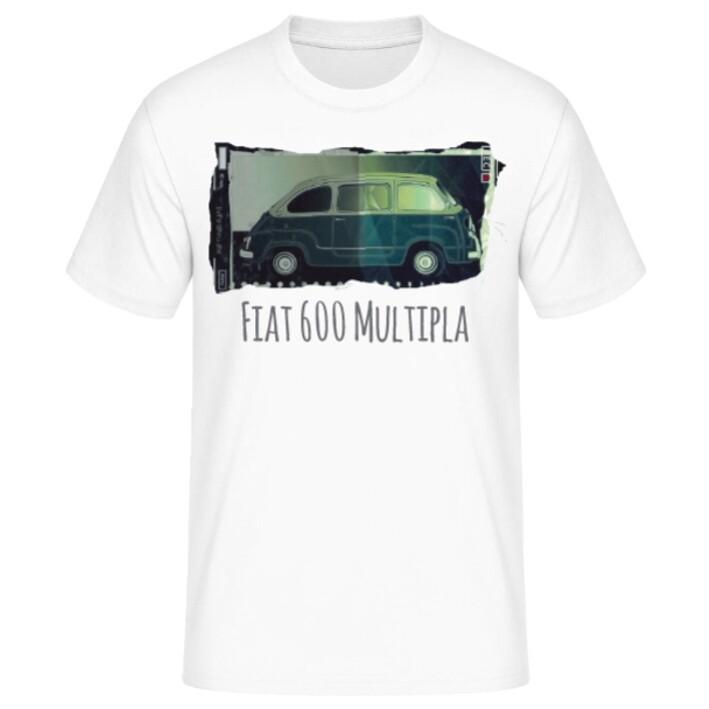 Fiat 600 Multipla Männer T-Shirt - No. 102urban