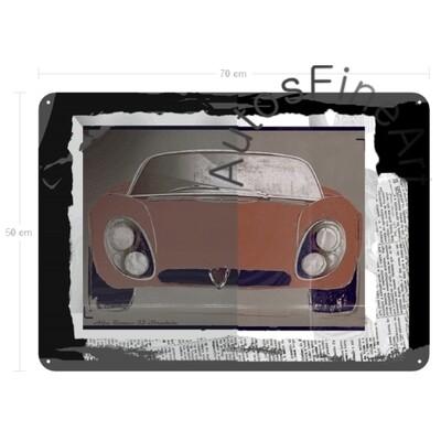 Alfa Romeo 33 Stradale - Blechbild No. 104urban