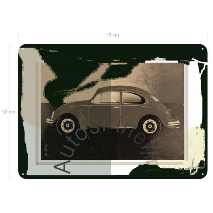 VW Käfer - Blechbild No. 123urban