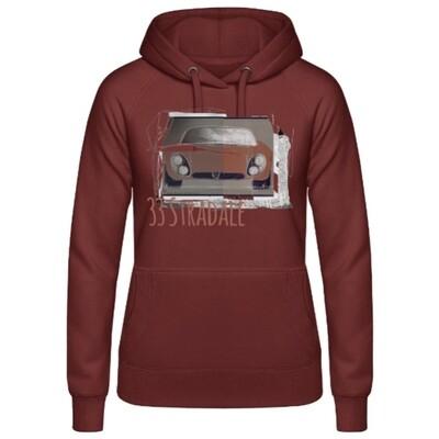 Alfa Romeo 33 Stradale Frauen Hoodie - No. 104urban