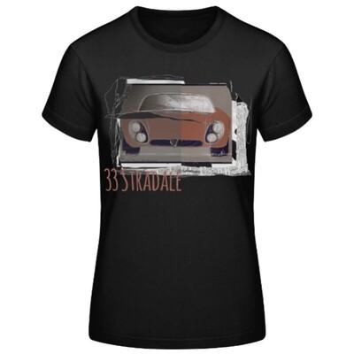 Alfa Romeo 33 Stradale Frauen T-Shirt - No. 104urban