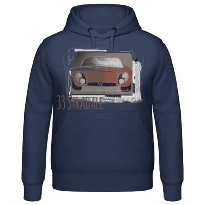 Alfa Romeo 33 Stradale Männer Hoodie - No. 104urban