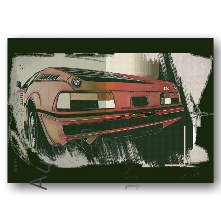 BMW M1 - HD Aluminiumbild No. 127urban