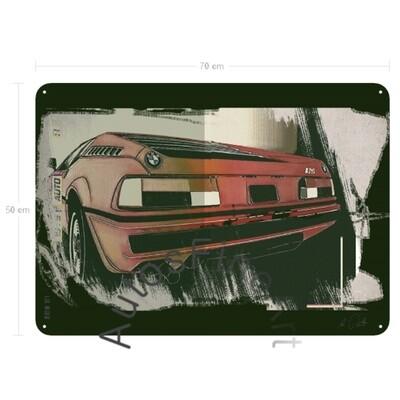BMW M1 - Blechbild No. 127urban