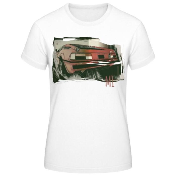 BMW M1 Frauen T-Shirt - No. 127urban